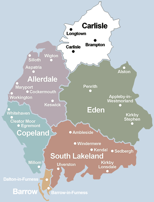 where is cumbria