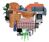 Dispose of unwanted furniture