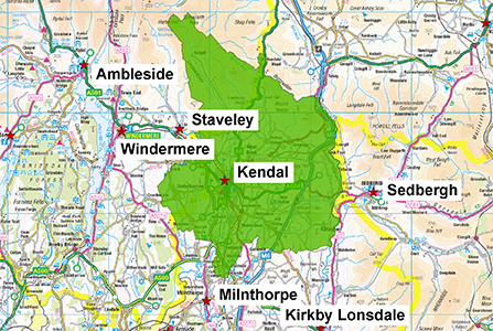 Kendal Station Area 300 X 447