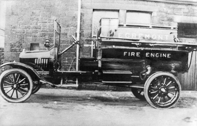 Egremont fire engine in 1924